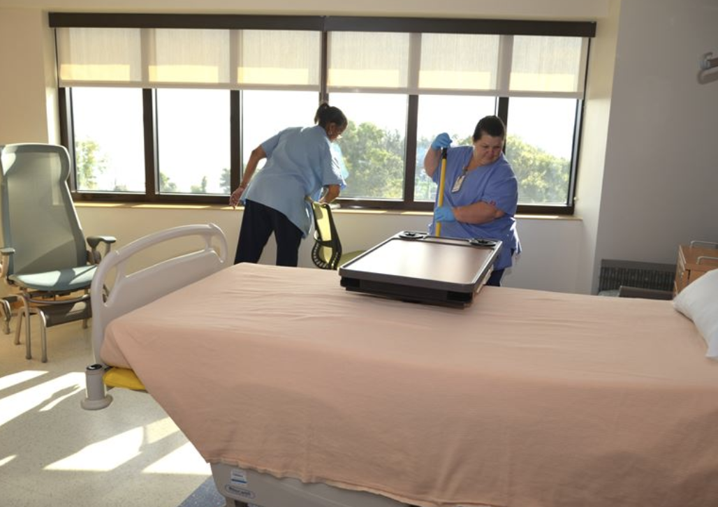 caregiver duties-hospital housekepers