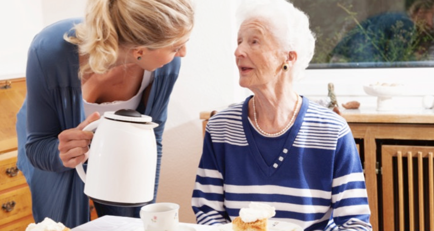 caregiver duties-Talking to a patient, companionship