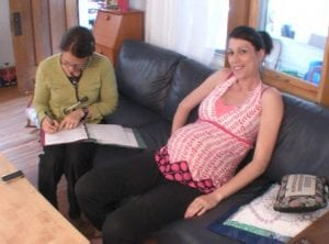 midwife home visit for what is a midwife article